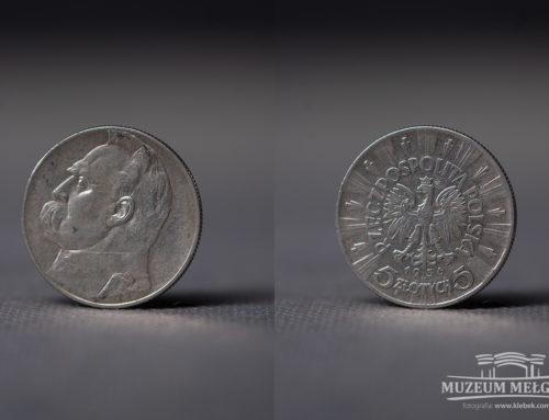 Moneta 5 zł z 1936 r.