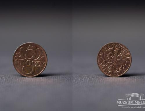 Moneta 5 gr z 1937 r.