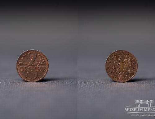 Moneta 2 gr z 1938 r.