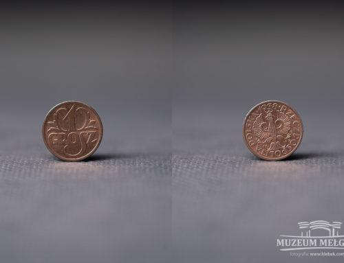 Moneta 1 gr z 1938 r.