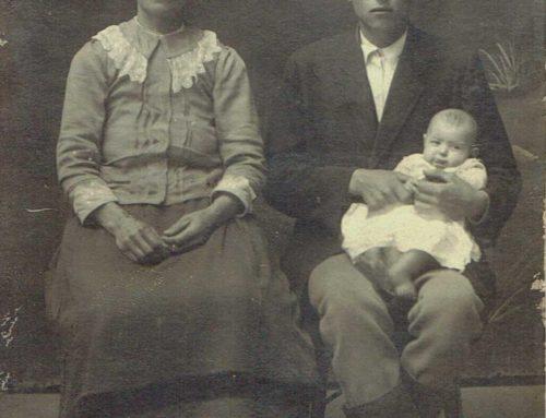 Michał Guz z rodziną
